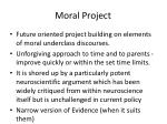 moral project