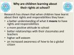why are children learning about their rights at school1