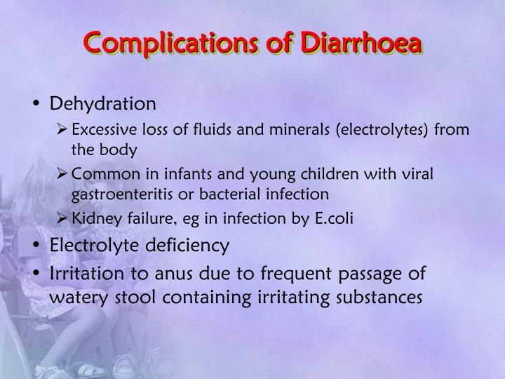 Complications of Diarrhoea
