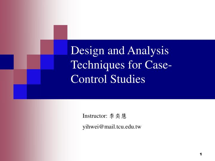 how can confounding be controlled at the design level of a case-control study Control of the confounding effect of age can be accomplished in in the design phase of a study by way case-control study.