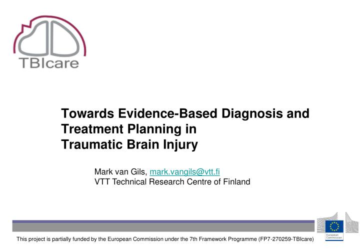 PPT - Towards Evidence-Based Diagnosis and Treatment Planning in