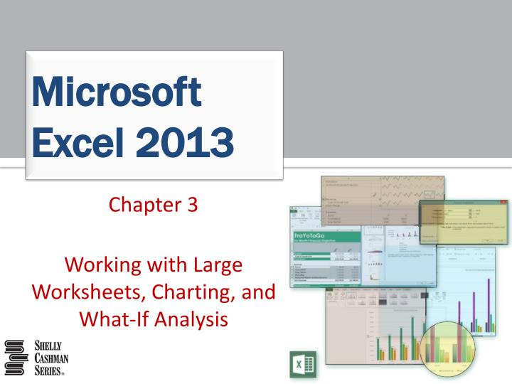 excel chapter 6 working with Excel chapter 6: what-if analysis [skip navigation] objectives: online chapter review: key terms: chapter summary: excel chapter 6: what-if analysis: objectives:.