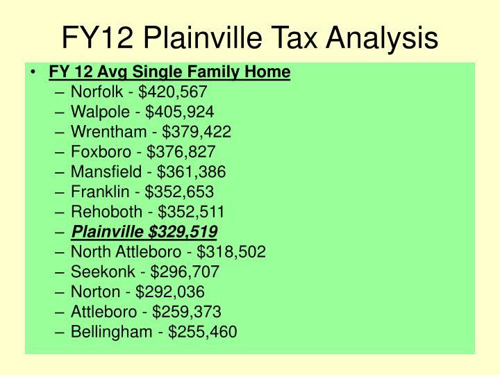 Fy12 plainville tax analysis2