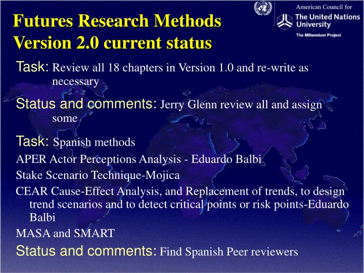 futures research methodology
