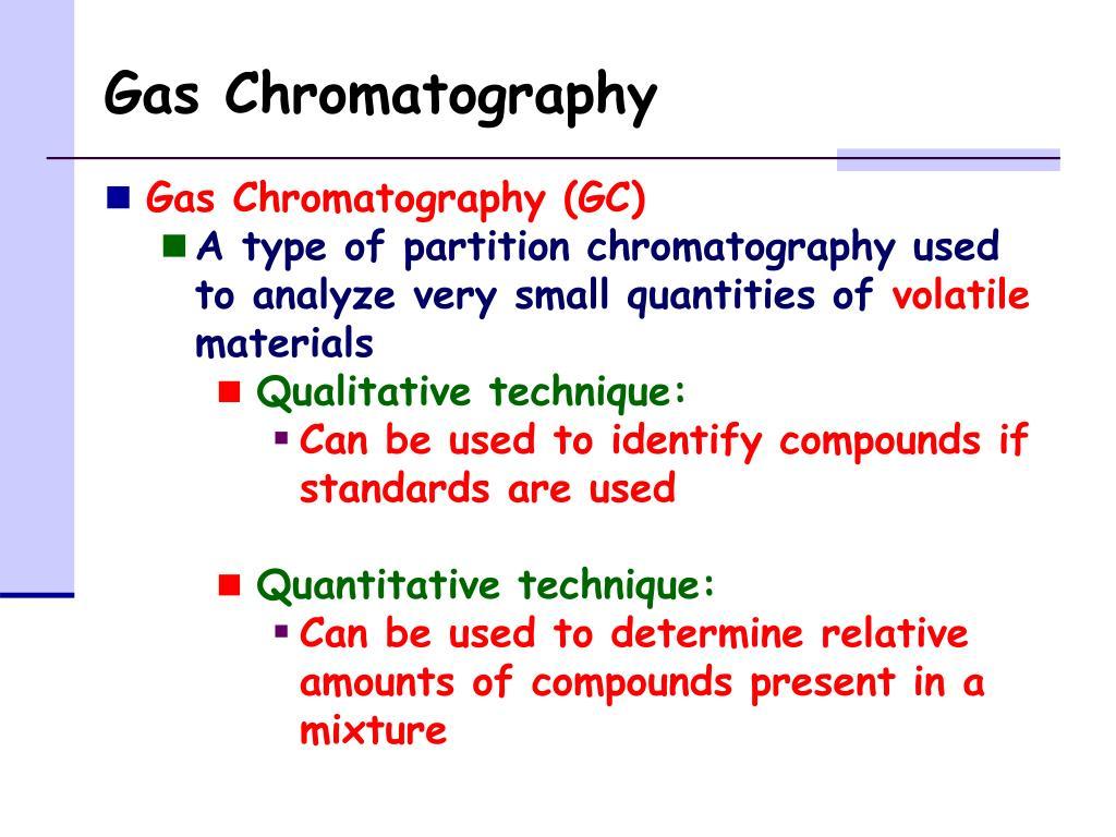 PPT - Gas Chromatography PowerPoint Presentation - ID:5659681