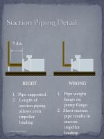 suction piping detail