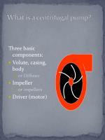 what is a centrifugal pump