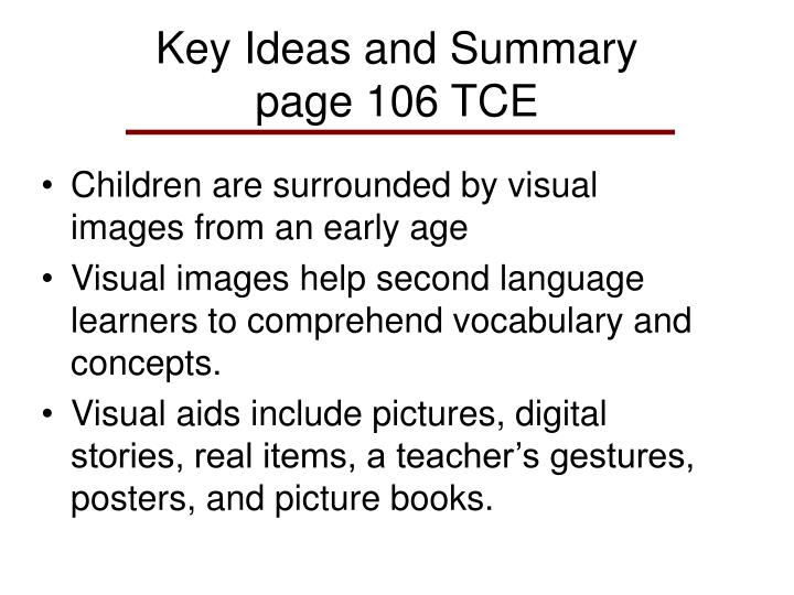 """visual aids in teaching vocabulary Vocabulary footnotes (definitions provided at the bottom of the page) can be added for particularly challenging words so that the reader can easily """"look up"""" the word while still reading the text an accompanying vocabulary guide can be provided for the text words that are included in the guide should be highlighted or printed in bold text to direct the."""
