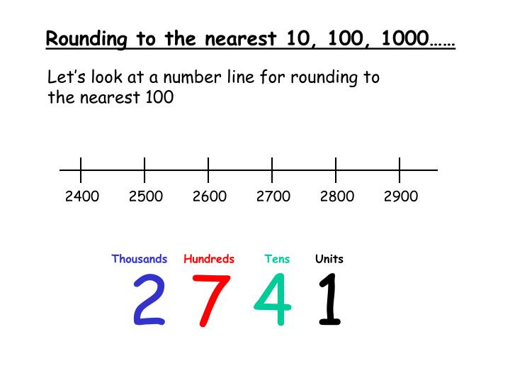 Ppt Rounding To The Nearest 10 100 1000 Powerpoint Presentation Id 5660122