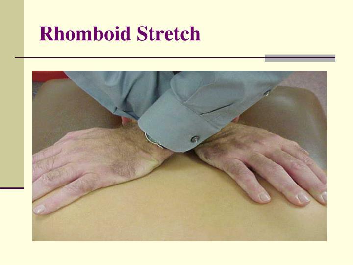 Rhomboid Stretch