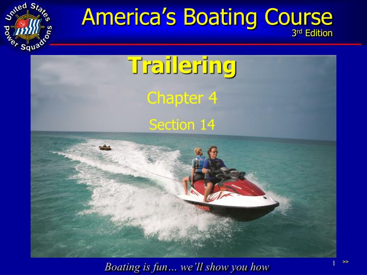 boating safely in the water essay Boat safety don't let this remove your boat and trailer from the water and take it to a safe location on dry land partially fill your boat with water to.