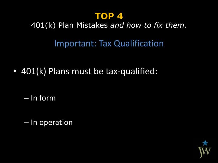 Top 4 401 k plan mistakes and how to fix them1