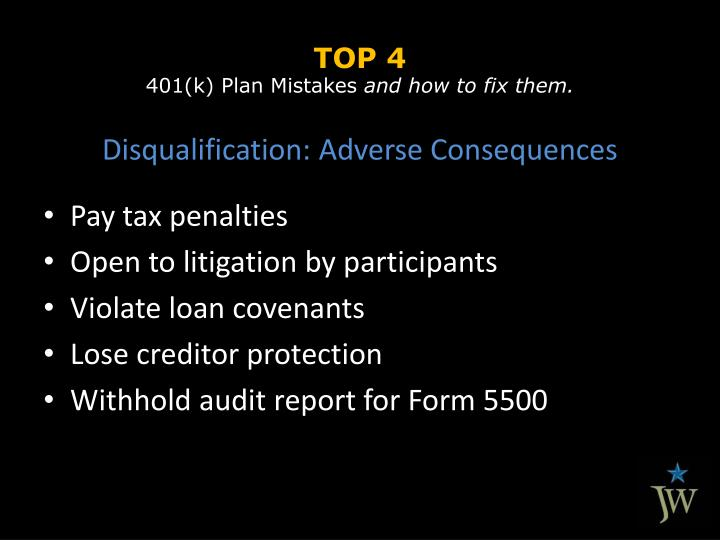 Top 4 401 k plan mistakes and how to fix them2