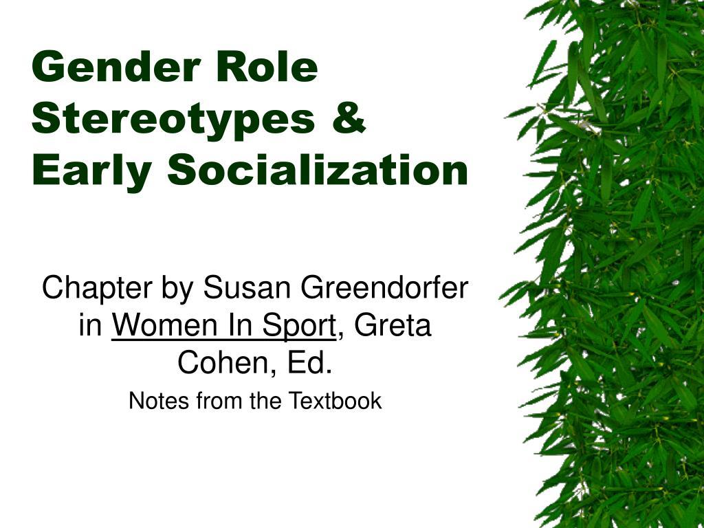 Gender gender socialization theories