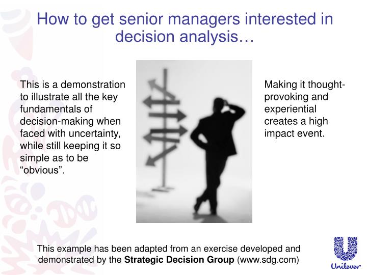 ppt - what's in a decision? sven roden unilever powerpoint, Presentation templates