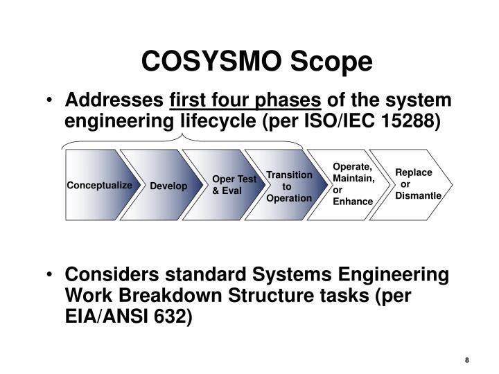 COSYSMO Scope