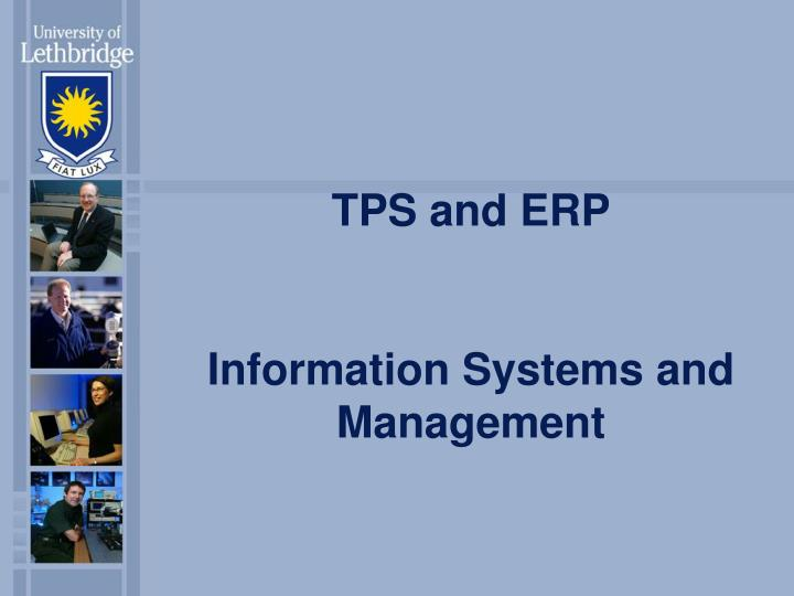 TPS and ERP
