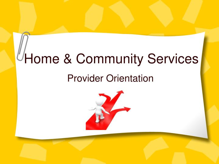 Home community services
