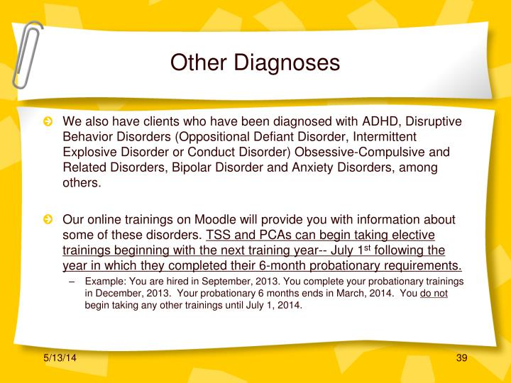 Other Diagnoses