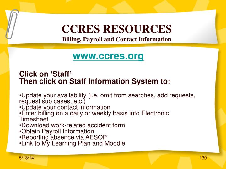 CCRES RESOURCES