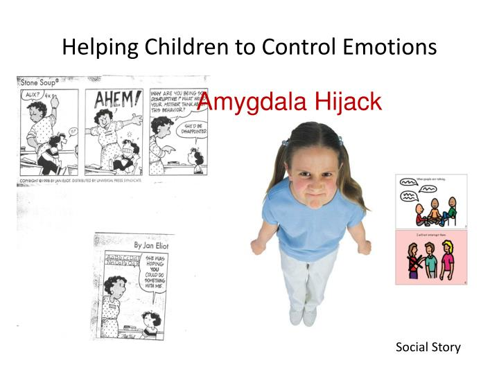 Helping Children to Control Emotions
