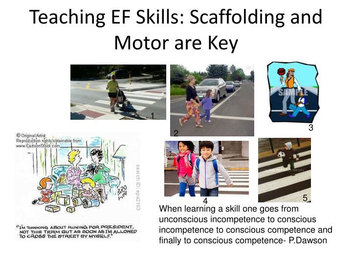Teaching EF Skills: Scaffolding and Motor are Key