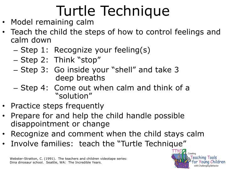Turtle Technique