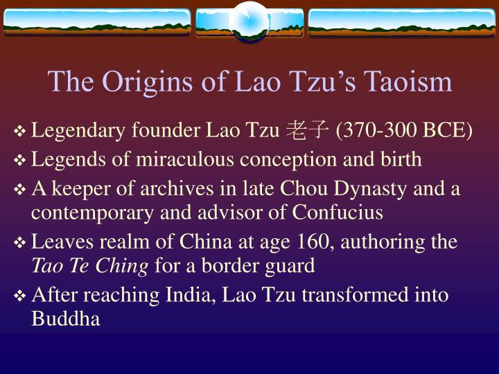 where was taoism originated