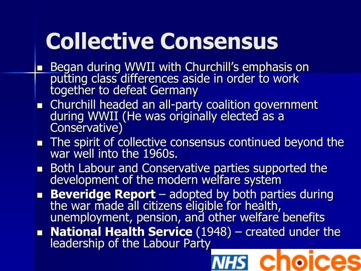 Collective Consensus