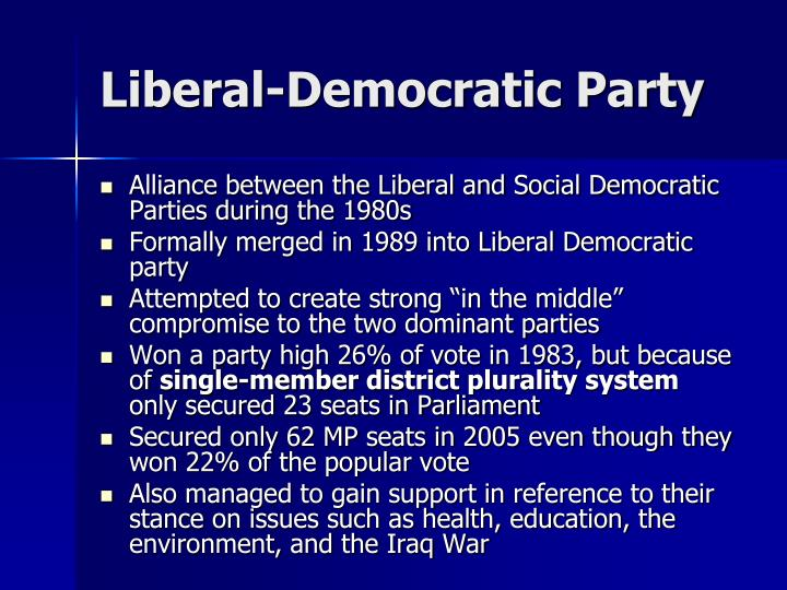 Liberal-Democratic Party