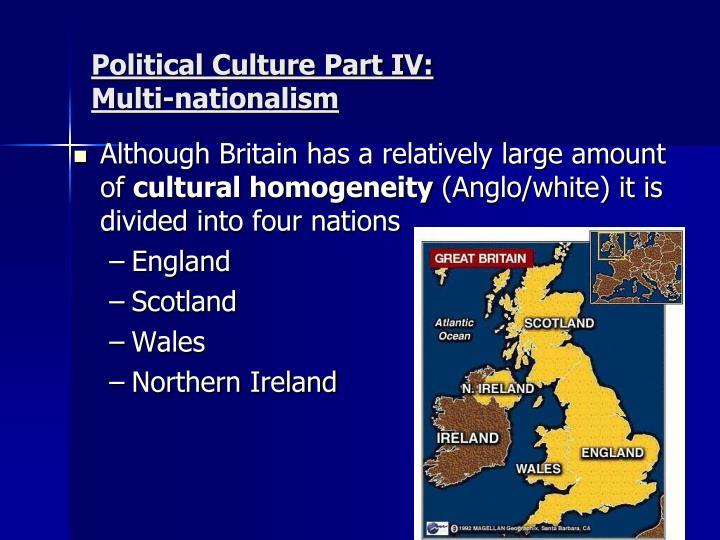 Political Culture Part IV: