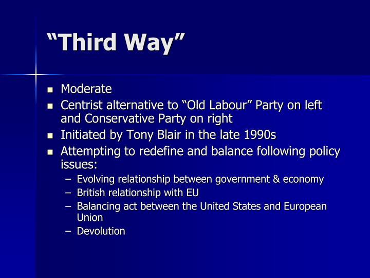 """Third Way"""