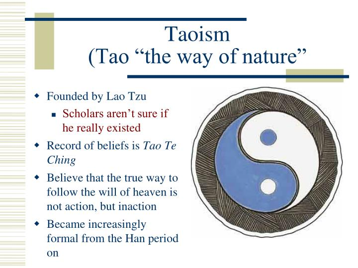 the origin history and beliefs of taoism in china Taoism started in china as a combination of psychology and philosophy it evolved into a religious faith in 440 ce when it was adopted as a state religion at that.
