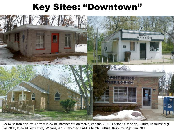 "Key Sites: ""Downtown"""