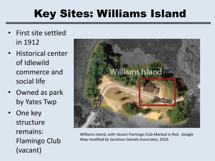 Key Sites: Williams Island