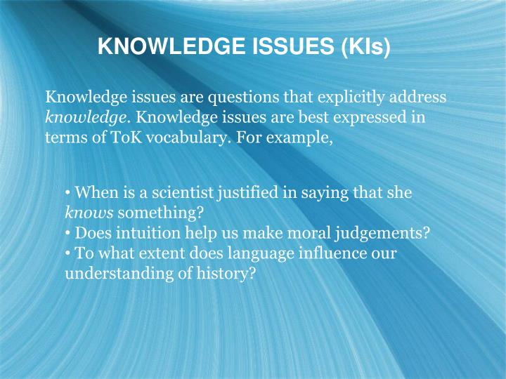 theory of knowledge essay on vocabulary