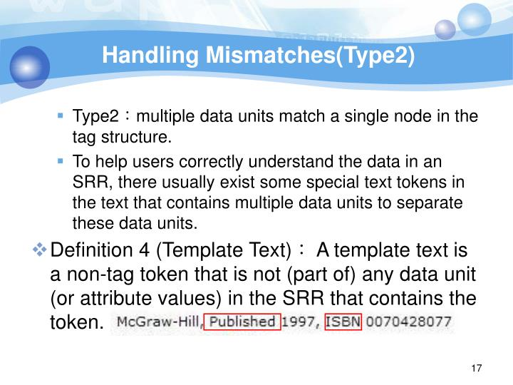 Handling Mismatches(Type2)