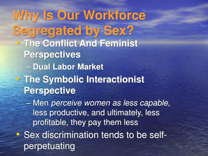 Why Is Our Workforce Segregated by Sex?