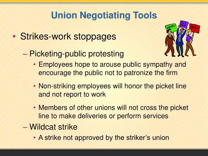 Union Negotiating Tools