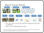 bag of visual words