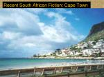 recent south african fiction cape town8