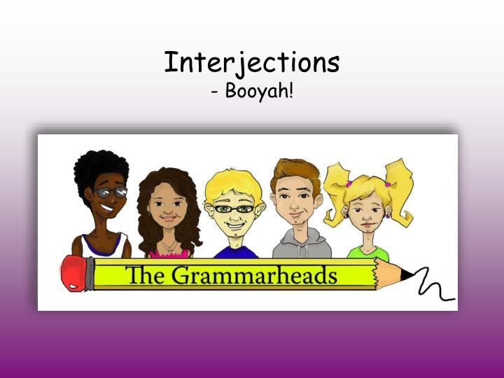 interjections booyah n.