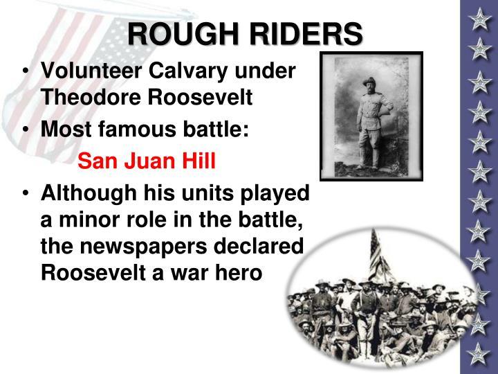 ROUGH RIDERS