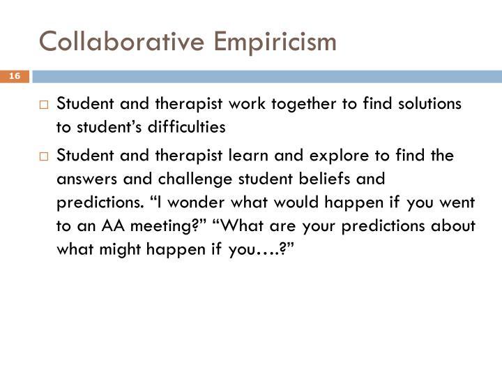 Collaborative Empiricism