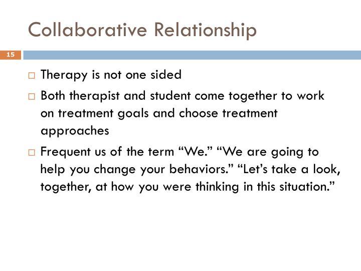 Collaborative Relationship