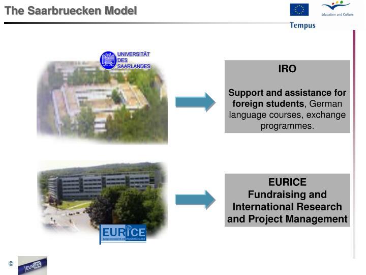 The saarbruecken model