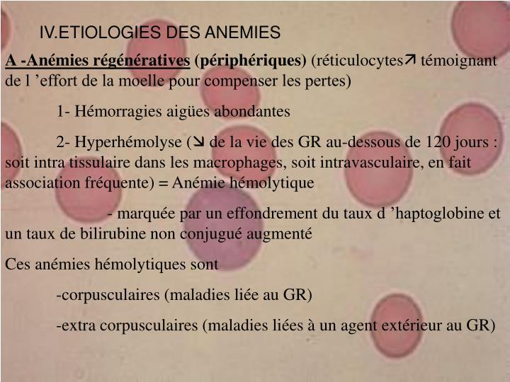 PPT - LES ANEMIES PowerPoint Presentation - ID:5663940