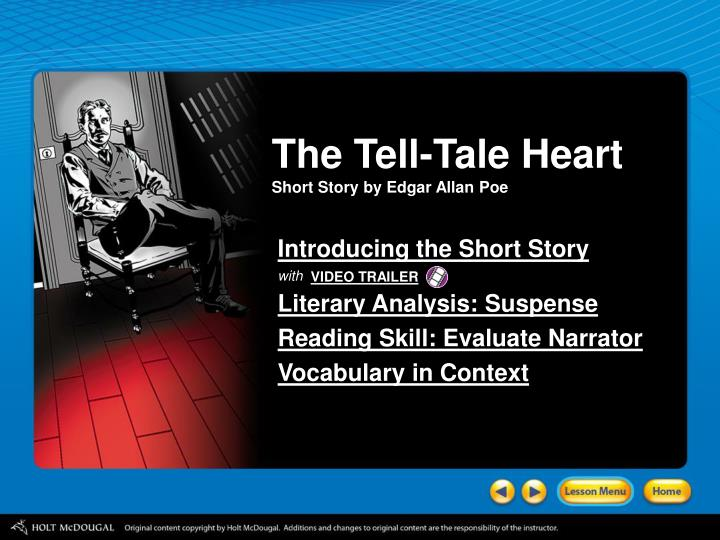 character analysis of edgar in the short story the big h tells all Enotes homework help is where your  ln all three stories, the central character finds  the characters in anton chekhov's 1899 short story are.