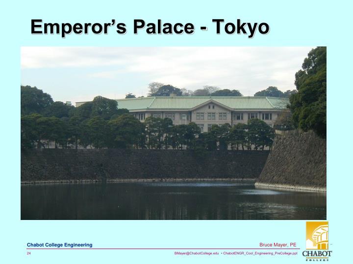 Emperor's Palace - Tokyo