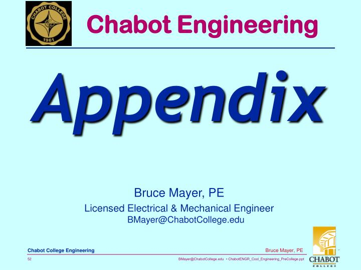 Chabot Engineering